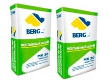 МК 30 Монтажный клей BERGhome (для газобетона), 25 кг